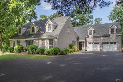 Lynchburg County Single Family Home For Sale: 623 Trents Ferry Road