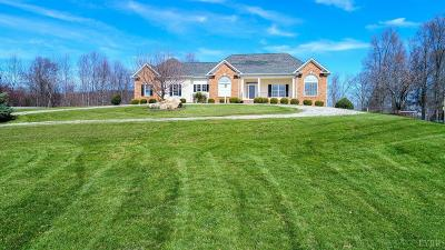 Amherst Single Family Home For Sale: 1182 Gidsville Rd.