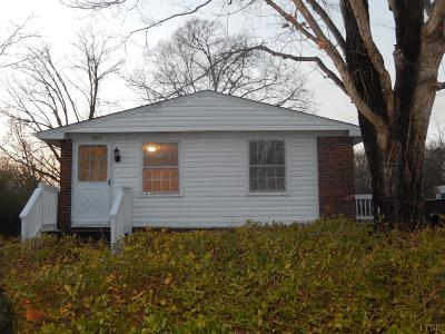 Altavista Single Family Home For Sale: 800 14th Street