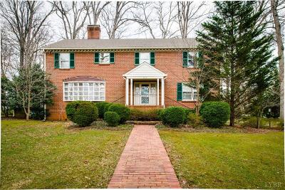 Lynchburg Single Family Home For Sale: 3135 Sedgewick