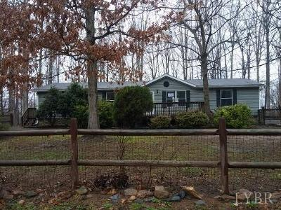 Goode Single Family Home For Sale: 1259 Lees Mill Park Road