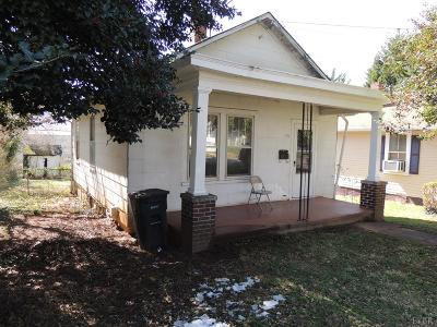 Lynchburg Single Family Home For Sale: 1639 Blackburn Street