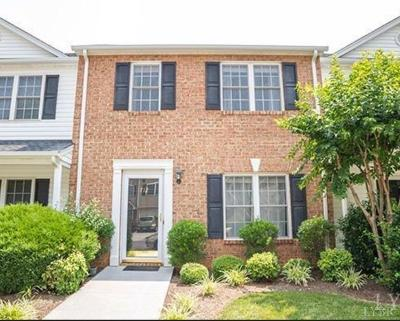 Lynchburg County Condo/Townhouse For Sale: 712 Wyndhurst Drive