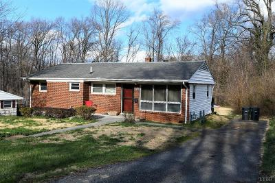 Lynchburg County Single Family Home For Sale: 1052 Coronado Lane