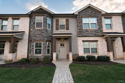 Lynchburg Condo/Townhouse For Sale: 68 Mallard Lane