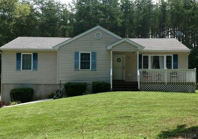 Campbell County Single Family Home For Sale: 3489 Wards Road