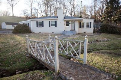 Lynchburg County Single Family Home For Sale: 1627 Clayton Avenue