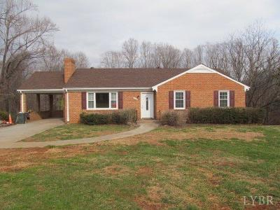 Lynchburg County Single Family Home For Sale: 3000 Link Road