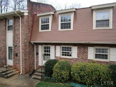 Lynchburg County Condo/Townhouse For Sale: 3101 Link Road #112