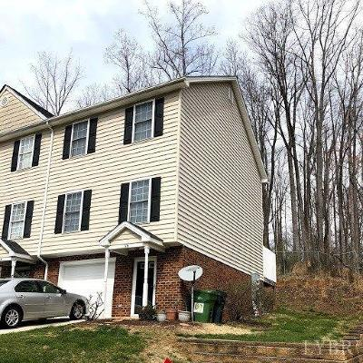 Lynchburg County Condo/Townhouse For Sale: 2009 Lakeside Drive
