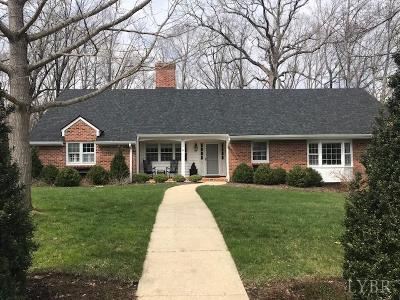 Lynchburg County Single Family Home For Sale: 1217 Bell Tavern Road