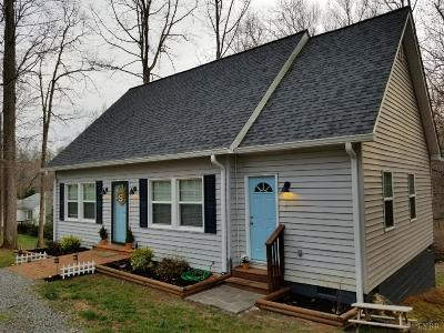 Bedford County Single Family Home For Sale: 1496 Pine Bluff Drive