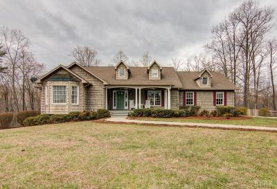 Bedford County Single Family Home For Sale: 1489 Johnson School Road