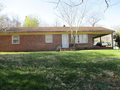 Single Family Home For Sale: 1284 Richmond Hwy