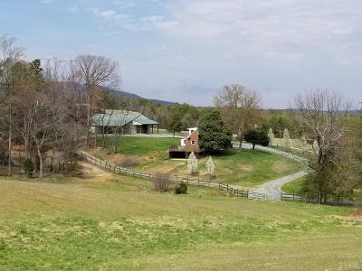 Campbell County Single Family Home For Sale: 4155 Johnson Creek Road