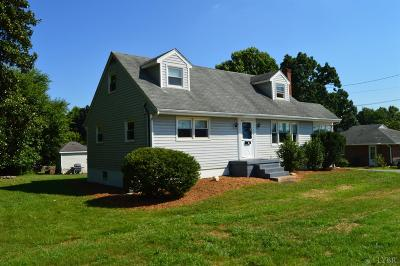 Lynchburg County Single Family Home For Sale: 791 Leesville Road