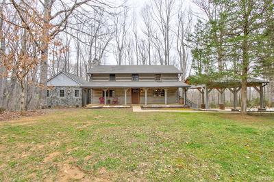 Bedford Single Family Home For Sale: 1236 Meadow Spring Road