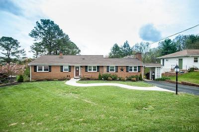 Lynchburg VA Single Family Home For Sale: $169,900