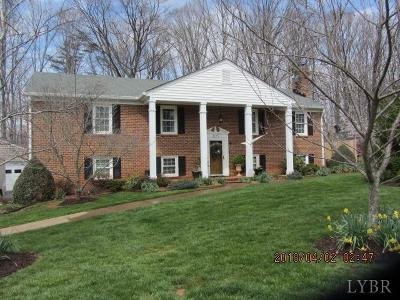 Campbell County Single Family Home For Sale: 1097 Farfields Drive