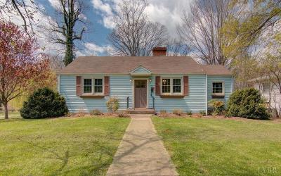 Bedford County Single Family Home Contingent/Show: 1101 Venable Drive