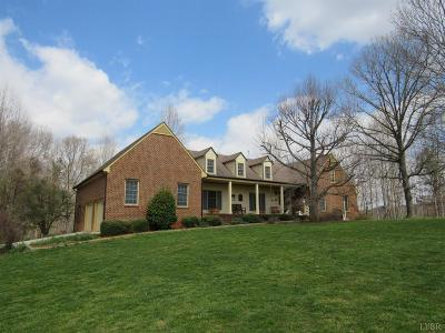 Amherst VA Single Family Home For Sale: $659,000