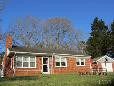 Altavista Single Family Home For Sale: 1804 Bedford Avenue