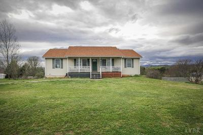 Bedford County Single Family Home For Sale: 6937 Moneta Road