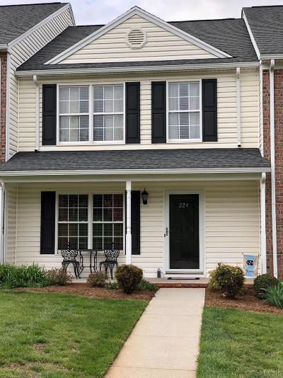 Lynchburg VA Condo/Townhouse For Sale: $159,900