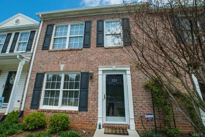 Lynchburg VA Condo/Townhouse For Sale: $164,900