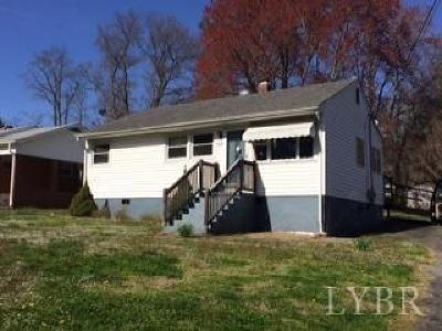 Altavista Single Family Home For Sale: 1810 Forest Street