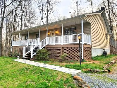 Bedford County Single Family Home For Sale: 1170 Cornelius Road