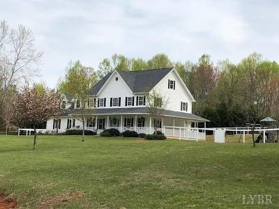 Lynchburg Single Family Home For Sale: 3711 Trents Ferry Road
