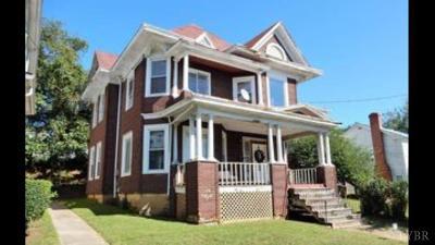 Lynchburg Single Family Home For Sale: 816 Rivermont Avenue
