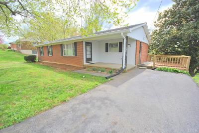 Lynchburg Single Family Home For Sale: 1111 Standish Circle