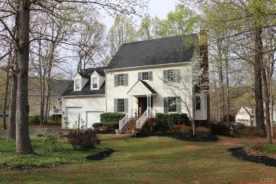 Forest Single Family Home For Sale: 102 Britt Place