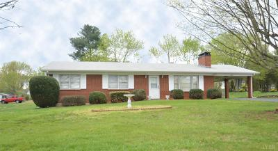 Lynchburg VA Single Family Home For Sale: $166,900