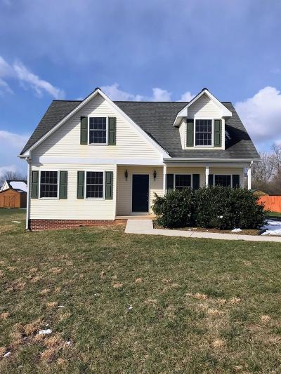Campbell County Single Family Home For Sale: 62 Crystal Lane