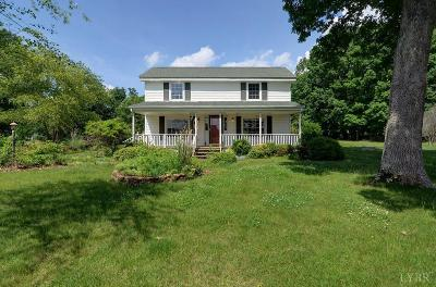 Rustburg Single Family Home For Sale: 5230 Red House Road