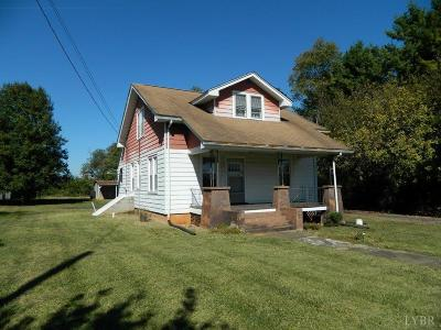 Bedford Single Family Home For Sale: 852 Burks Hill Road