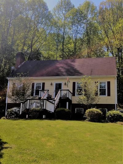 Lynchburg County Single Family Home For Sale: 2824 Evergreen Road