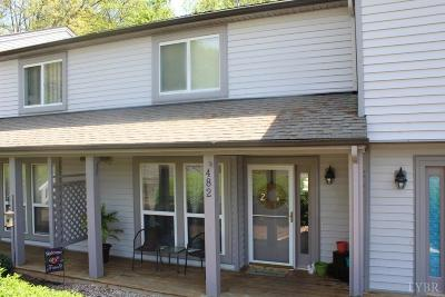 Bedford County Condo/Townhouse For Sale: 482 Oak Point Road
