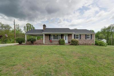 Bedford County Single Family Home For Sale: 1110 Jordan Drive