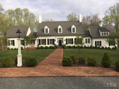 Lynchburg VA Single Family Home For Sale: $1,450,000