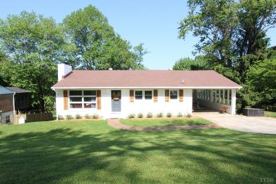 Lynchburg County Single Family Home For Sale: 7140 Meadowbrook Road