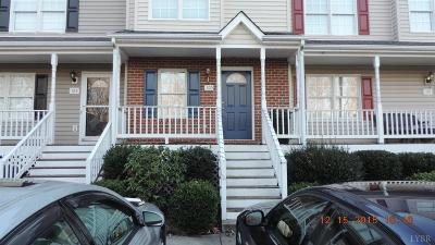 Lynchburg VA Condo/Townhouse For Sale: $121,500