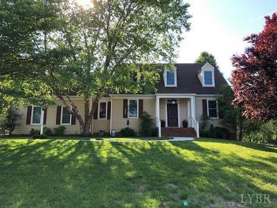 Lynchburg County Single Family Home For Sale: 116 Marguerite Drive