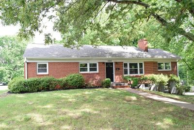 Lynchburg Single Family Home For Sale: 5924 Hines Circle