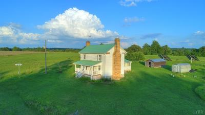 Campbell County Single Family Home For Sale: 7144 Hat Creek Road