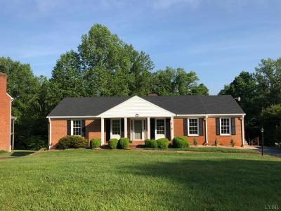 Campbell County Single Family Home For Sale: 135 Lake Forest Drive