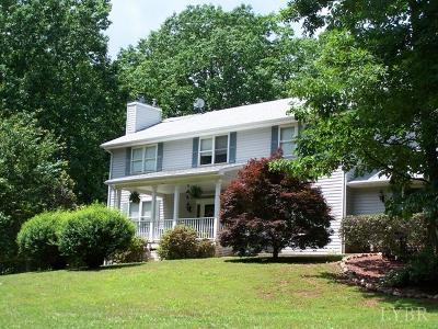 Campbell County Single Family Home For Sale: 135 Warner Road